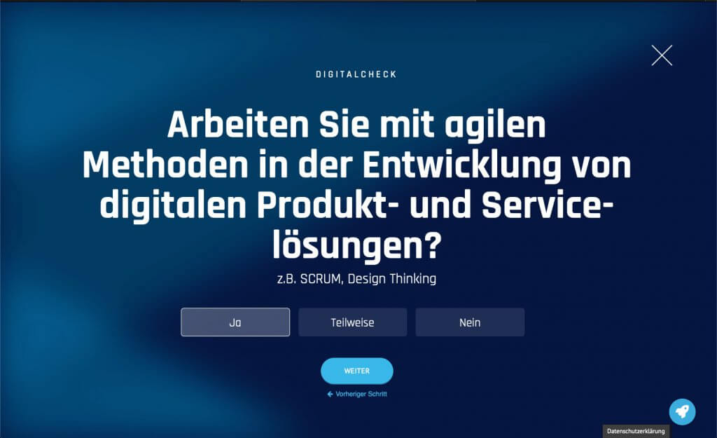 Digital-Check Frage