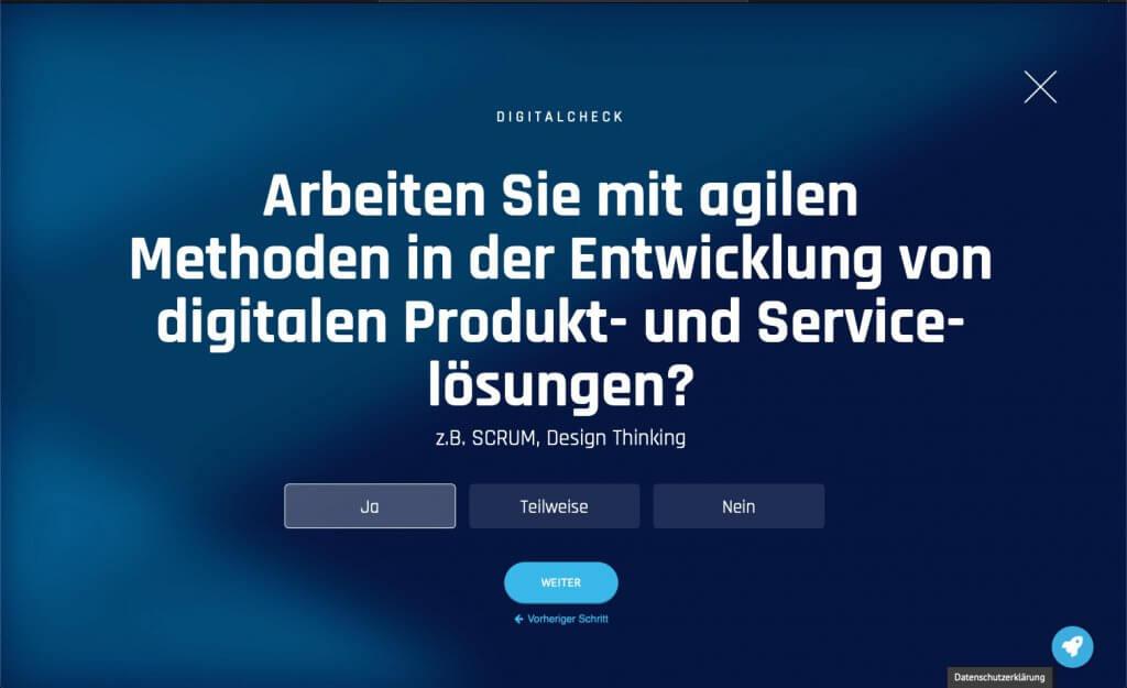 Digital-Check Frage